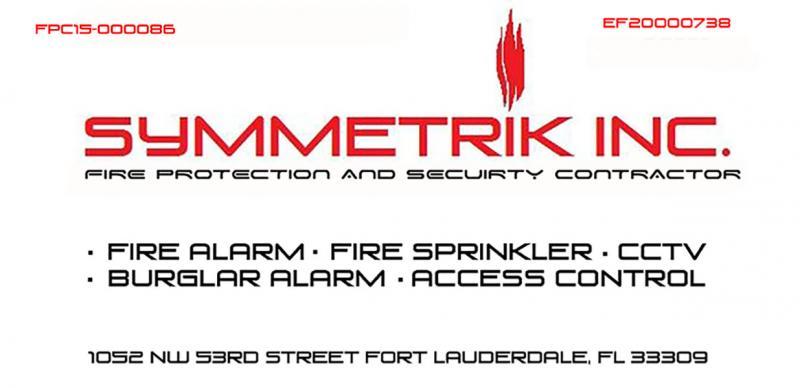 Fire Alarm & Fire Sprinkler Local South Florida FL Company,Fire ...